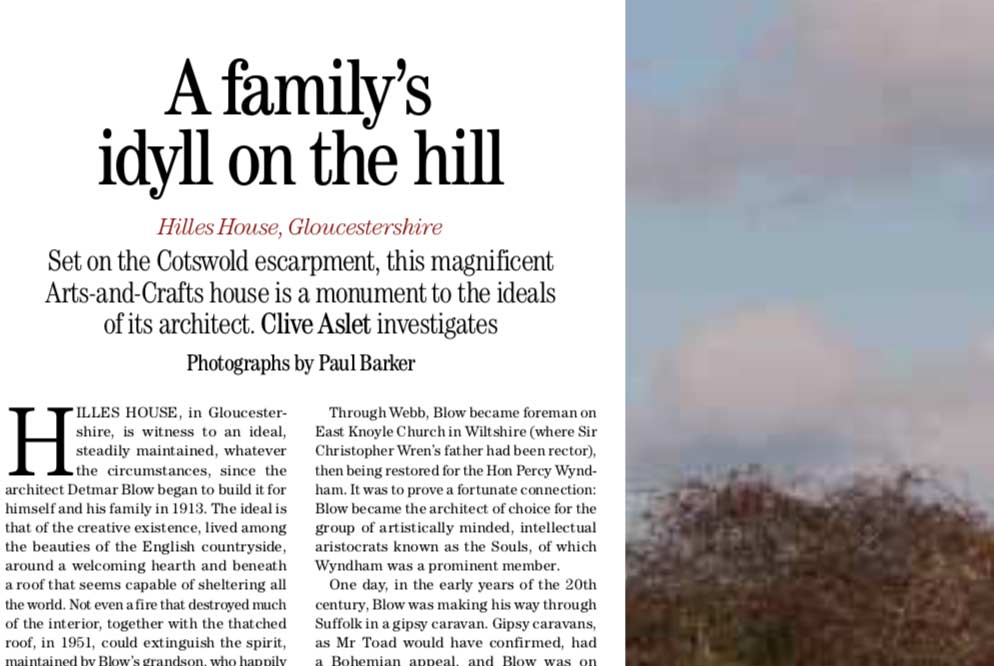 Hilles House in Cotswold Life