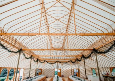 Hilles House Palace Yurt