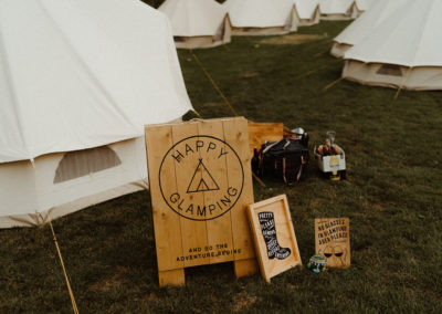 Glamping tents from Lulu Bell Tents